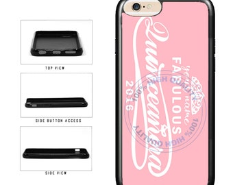 Personalized Custom Name 2016 Quinceanera - iPhone 4 4s 5 5s 5c 6 6s 6 Plus 7 6s Plus iPod Touch