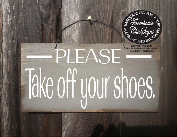 Please remove your shoes sign, no shoes sign, no shoes allowed, no shoes in house sign, remove shoes sign
