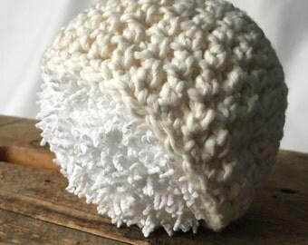 Newborn Hat, Newborn Photo Prop, Baby Hat, Cotton Hat, Photography Prop