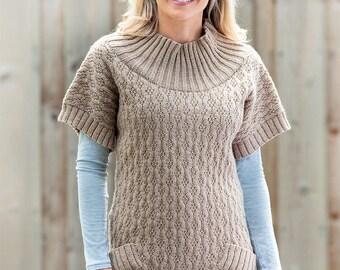 Wendy Knitting Pattern DK 5928 Ladies Tunic