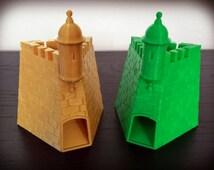 """Dice Tower 3D Printed """"La Garita del Castillo San Felipe del Morro"""""""