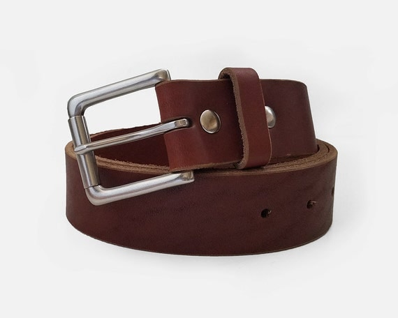 chicago chromexcel horween leather belt 1 5 w