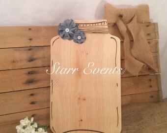 Wedding decor. Mason jar guestbook wedding decor. Wedding Guestbook.  Wedding sign in book. Rustic wedding signs. Shabby chic wedding.