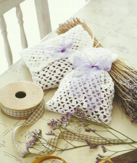 Lavender Bags Sachets Crochet PDF Pattern by DWCrochetPatterns