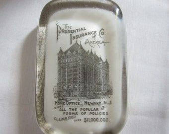 Prudential Insurance Co Paperweight As Is