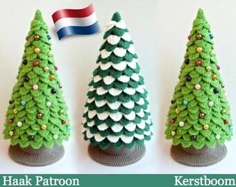 085NLY Kerstboom - Haak patroon Amigurumi - by Zabelina Etsy