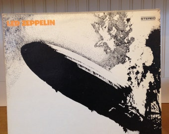 Led Zeppelin, Led Zeppelin. Record # SD 19126 1977 Repress. Nice Clean Copy Of Zep's First.