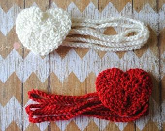 Sweetheart Headband [Preemie-Adult Sizes Available]