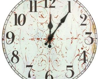 Winter Peace Wall Clock