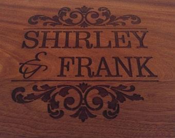 Ornate cutting board