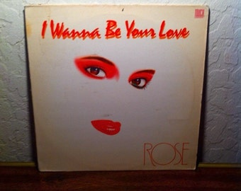 Rose,I want to be your love,Italo Disco,Cali Disco,Vinyl Record,Records,Vinyl Records Sale,LP Record,Record Album,Rock Vinyl,album,record