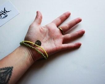 Bracelet Boho Green