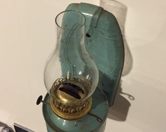 French wall mounted oil lamp