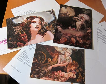 ONLY 1 LEFT! Vintage Postcard Set