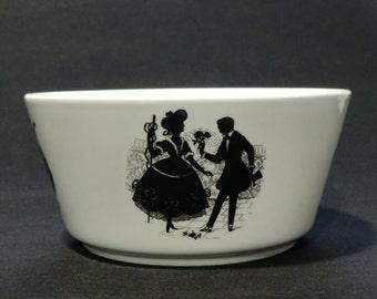 Bohemian Czech Ditmar Urbach Pottery Bowl
