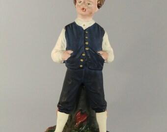 Bohemian Czech  Antique Bernard Bloch Eichwald Terracota Figurine