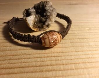 Custom Hemp Bracelet, Choose From 25 Colors, Hemp Jewelry, Hemp Bracelet, Natural, Boho Jewelry