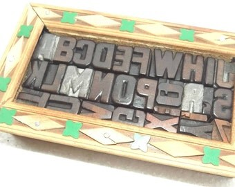 50% Discount 29 Vintage Letterpress Wood Type All Letter in Mix size & mix fonts for decoration, craft and many other use.#be-128