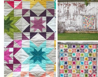 V & Co Quilt Pattern ONLY: Criss Cross Applesauce, Vanessa Christenson,  Ombre Fabrics