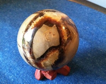 Septarian sphere,55mm sphere,Dragon Stone,Dragon Sphere,Tolerance stone,Patience stone,Absorbs-Energy,Earth-Healing stone,Grounding stone