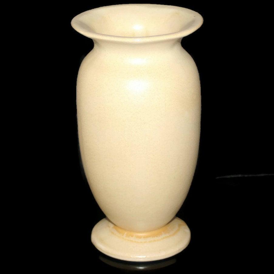 Vintage Pottery Vase Hand Painted Home Decor Vase