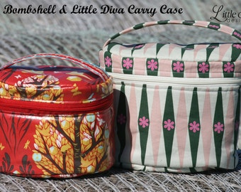 The Bombshell & Little Dive Carry Case PDF Sewing Pattern