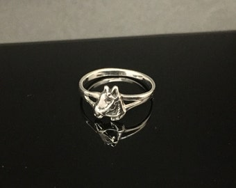 Sterling Silver Horse Ring // 925 Sterling Silver // Hand Cast // Various Sizes
