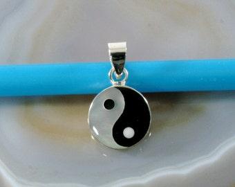 Yin Yang in 925 sterling silver, pendant - 6226