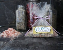 Money bath salts.This mix is specially made to attract money into your life and bring luck.