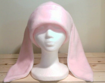 Bunny Hat - Rabbit Ears - Pink Rabbit Hat - Bunny Rabbit Hat - Cosplay Rabbit Hat - Christmas Gift - Prop Bunny Hat - Halloween Rabbit Hat