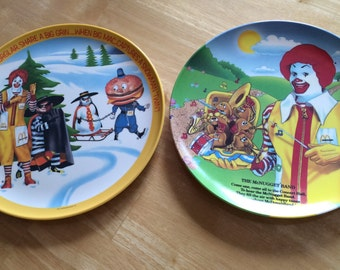 Ronald McDonald Collectors Plates
