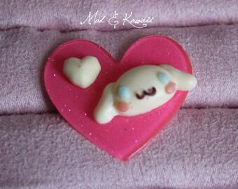 ring heart cinamoroll