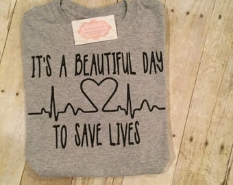 Greys Anatomy its a beatuiful day to save lifes