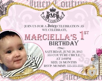Juicy Couture Invite
