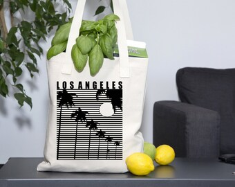 Los Angeles California Palm Trees Sunshine Tote