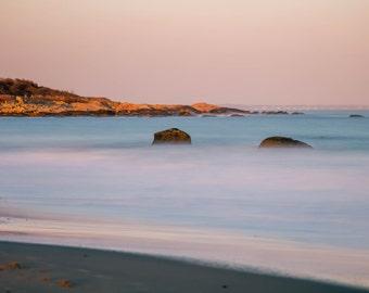 Limited Edition ~ Black Point ~ Coastal, Scarborough Beach, Narragansett, Rhode Island, Fine Art Canvas, New England, Fine Art Photography