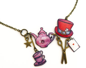 Alice the Wonderland necklace