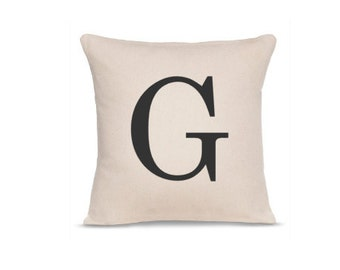 Initial Pillow - Letter Pillow - Custom Letter Pillow - Housewarming Gift - Home Pillow - Monogram Pillow - Whole Pillow - Personalized Gift