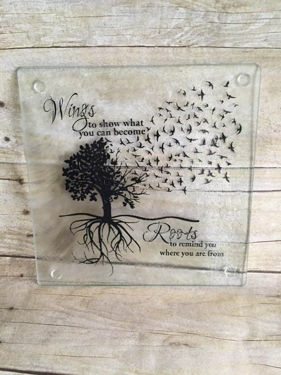 Glass Cutting board - Gift For New Home - Fun Classy Trivet - Wedding Shower Gift - Hostess Gift - Housewarming Gift - New Kitchen Decor