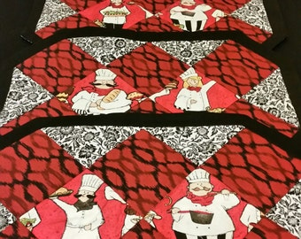 Chef Placemat Set of 4