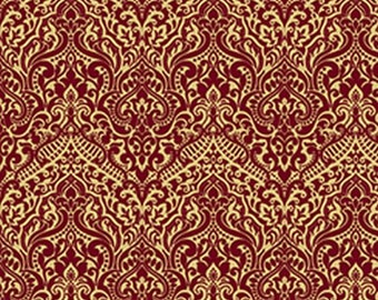 Luminous Wine Lace from Quilting Treasures by the yard