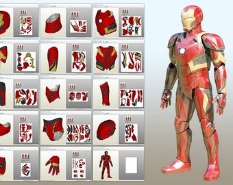 Mark 46 Pepakura pattern DIY