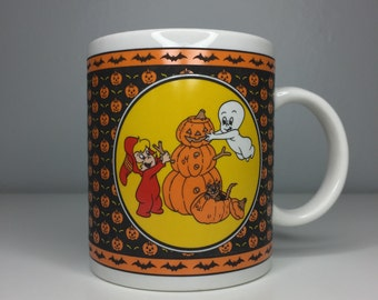 SALE! vintage Casper the Friendly Ghost ceramic Halloween mug