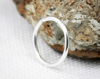 Septum ring, Sterling Silver,14, 16, 18, 19, 20, 21,22gauge,Nose ring,hoop, Solid silver,Septum jewelry,Cartilage hoop,navel,nipple,piercing