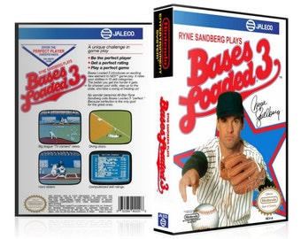NES - Bases Loaded 3 - Collector's Game Case