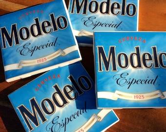 Modelo Beer Coasters