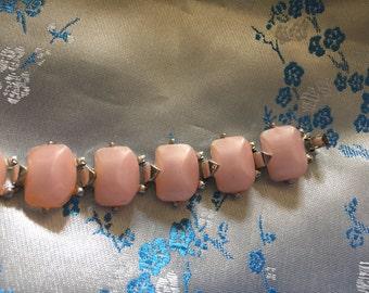 Vintage Pink thermostat Bracelet