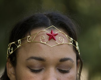 Wonder Woman Circlet Crown by BottiVingelo