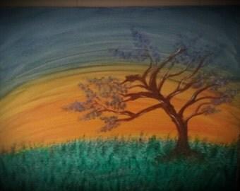 Empty Nest- Original Acrylic Painting