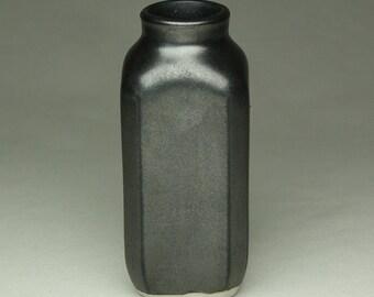 Gun Metal Bud Vase Bottel
